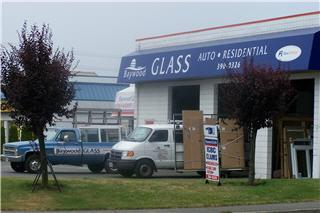 Baywood Glass in Nanaimo