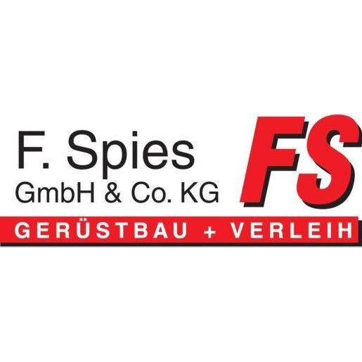 Logo von F. Spies GmbH & Co. KG Gerüstbau + Vertrieb