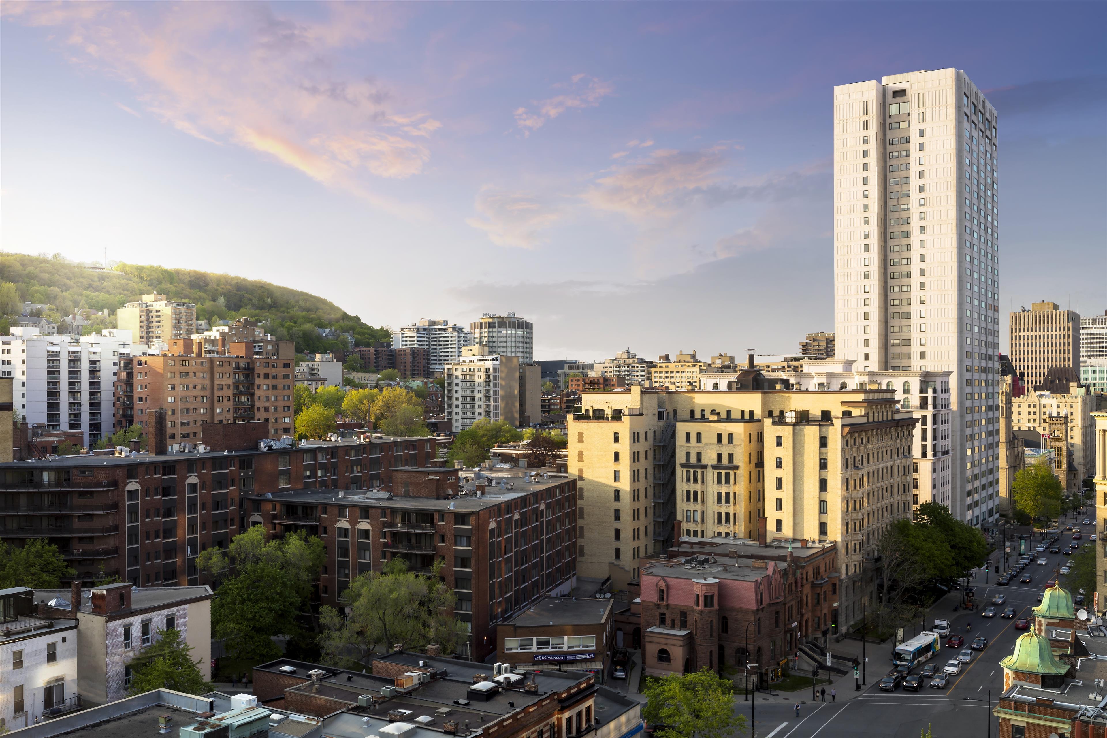 Le Méridien Versailles à Montreal: Penthouse City View