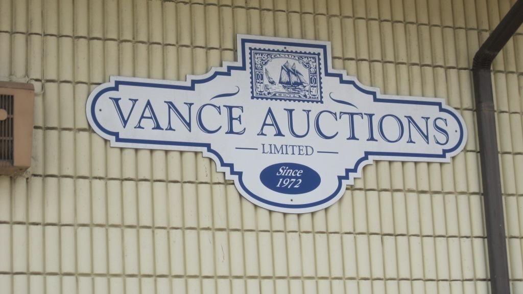 Vance Auctions 128 Griffin N Smithville, ON Stamps For
