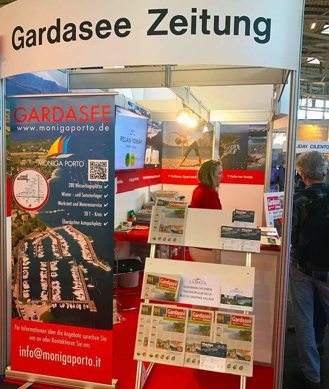 Lucchese Paola Pubblicita'  Lago di Garda  Gardasee Zeitung