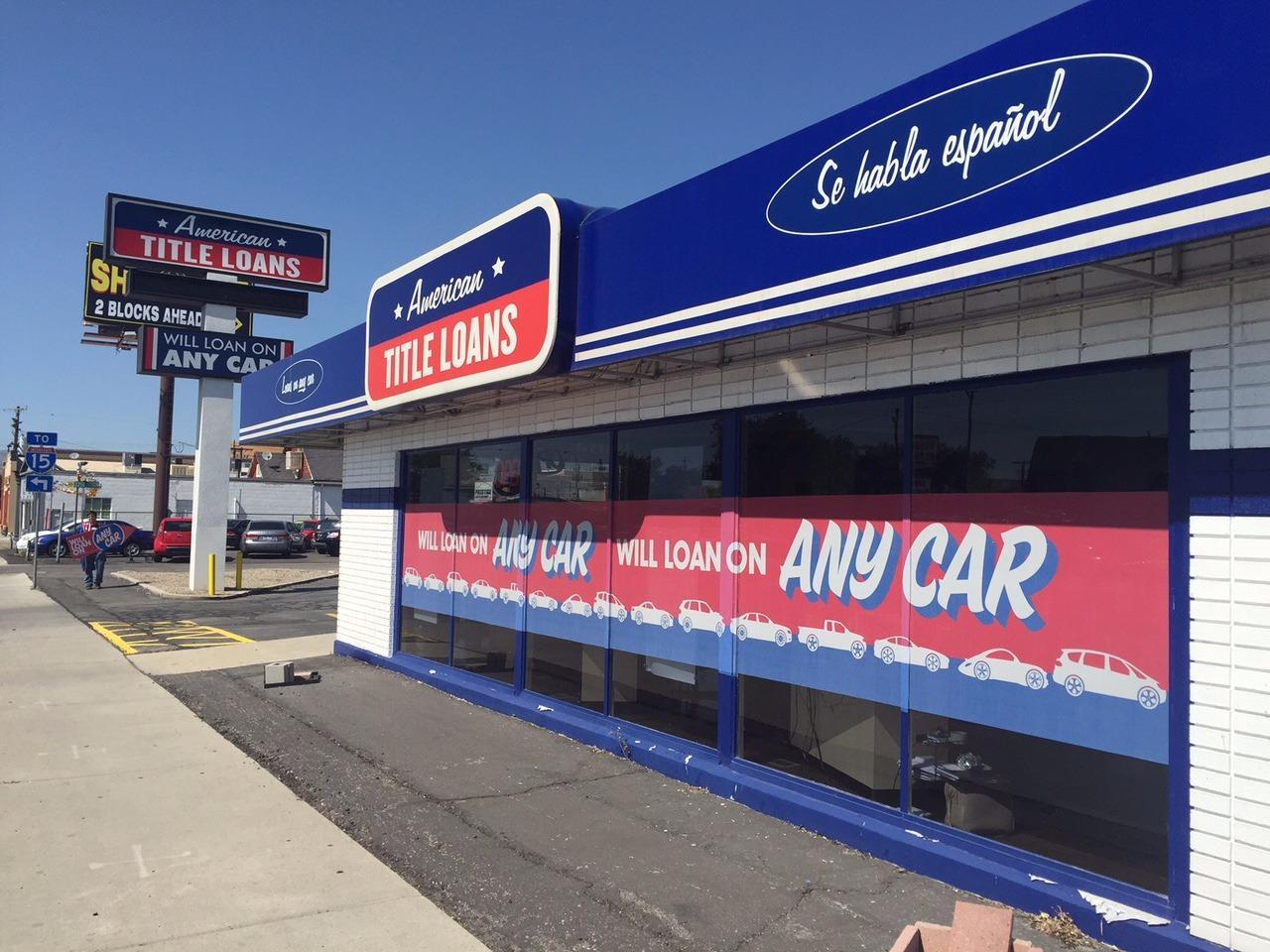 Utah Title Loans Inc Salt Lake City Ut