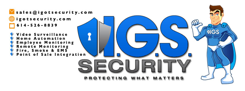 I.G.S. Security - ad image