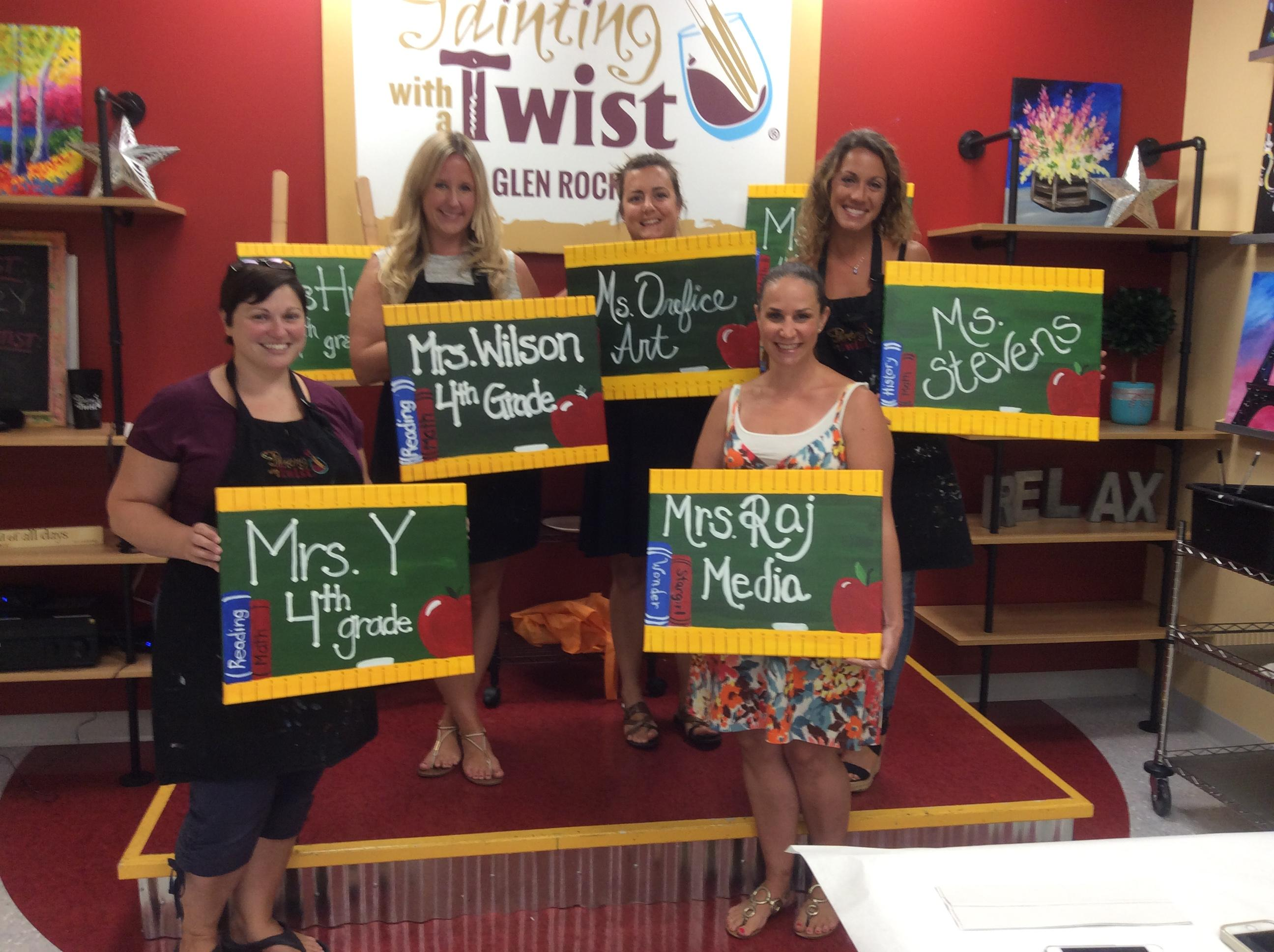 Painting with a twist coupons near me in glen rock 8coupons for Painting with a twist chicago