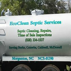 EcoClean Septic Tank Pumping, Repair and Inspections image 1
