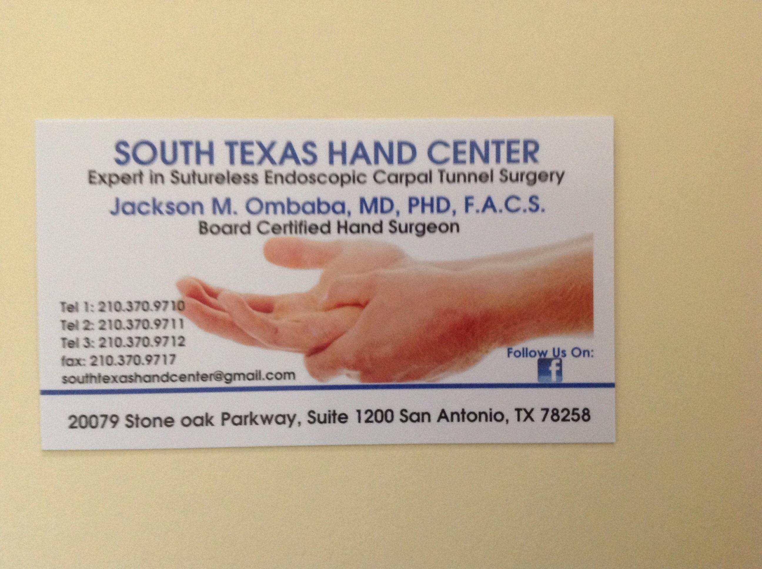 South Texas Hand Center