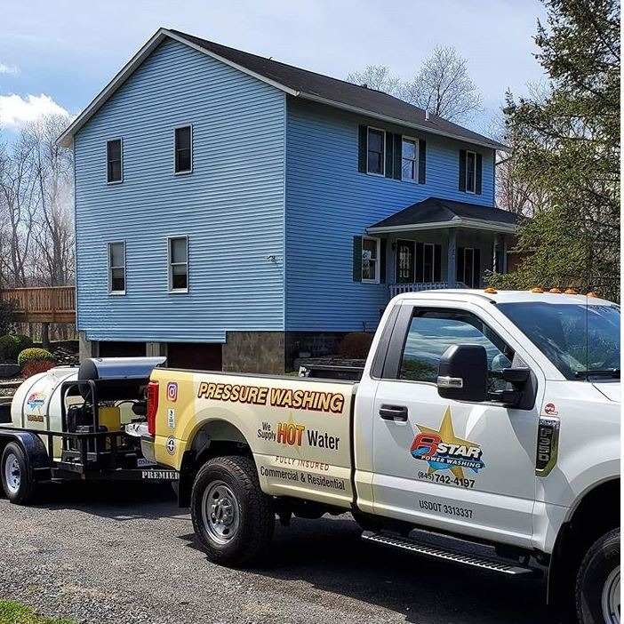 Six Star Pressure washing and cleaning Poughkeepsie NY