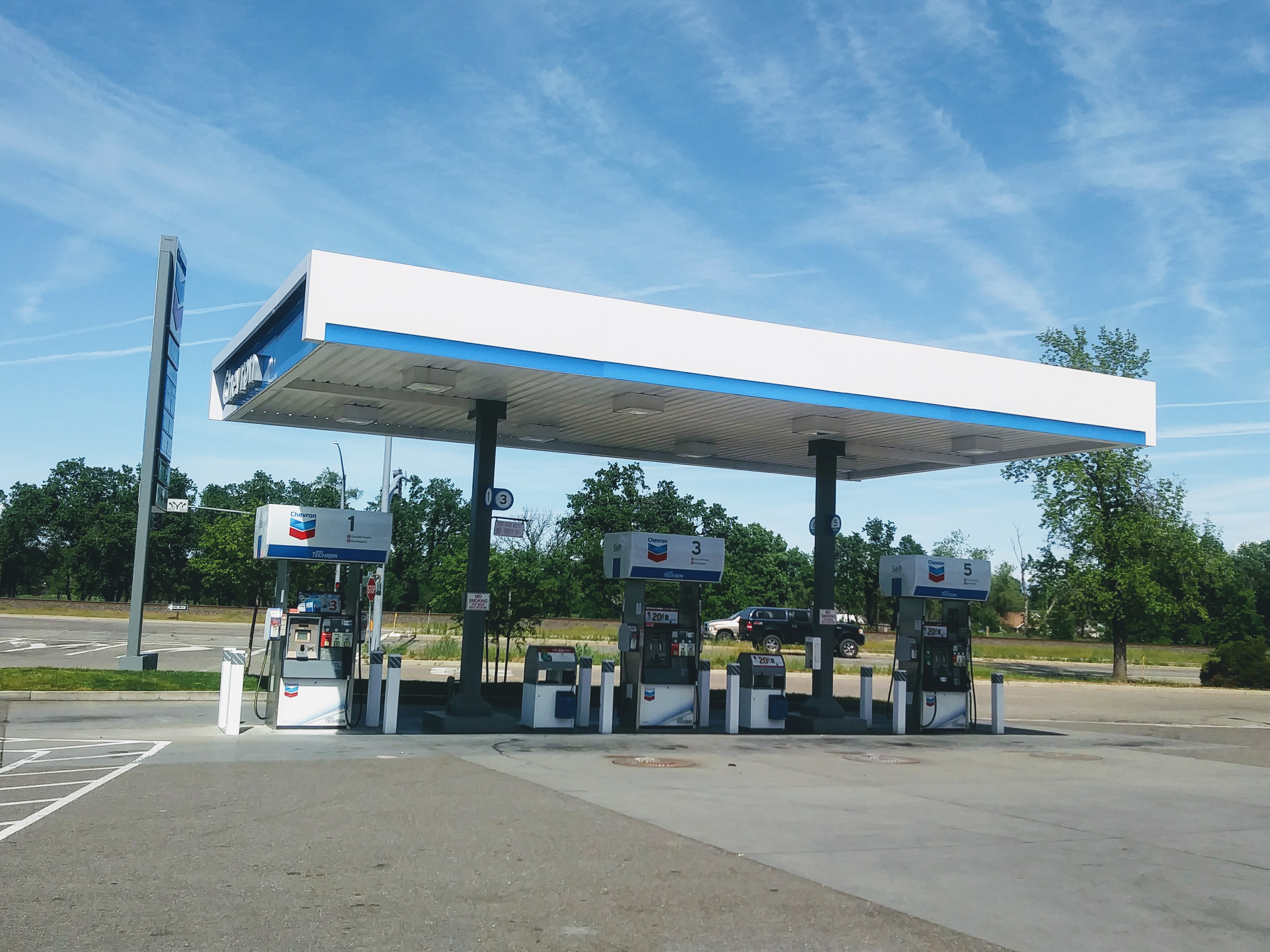 Gas station in Anderson, CA