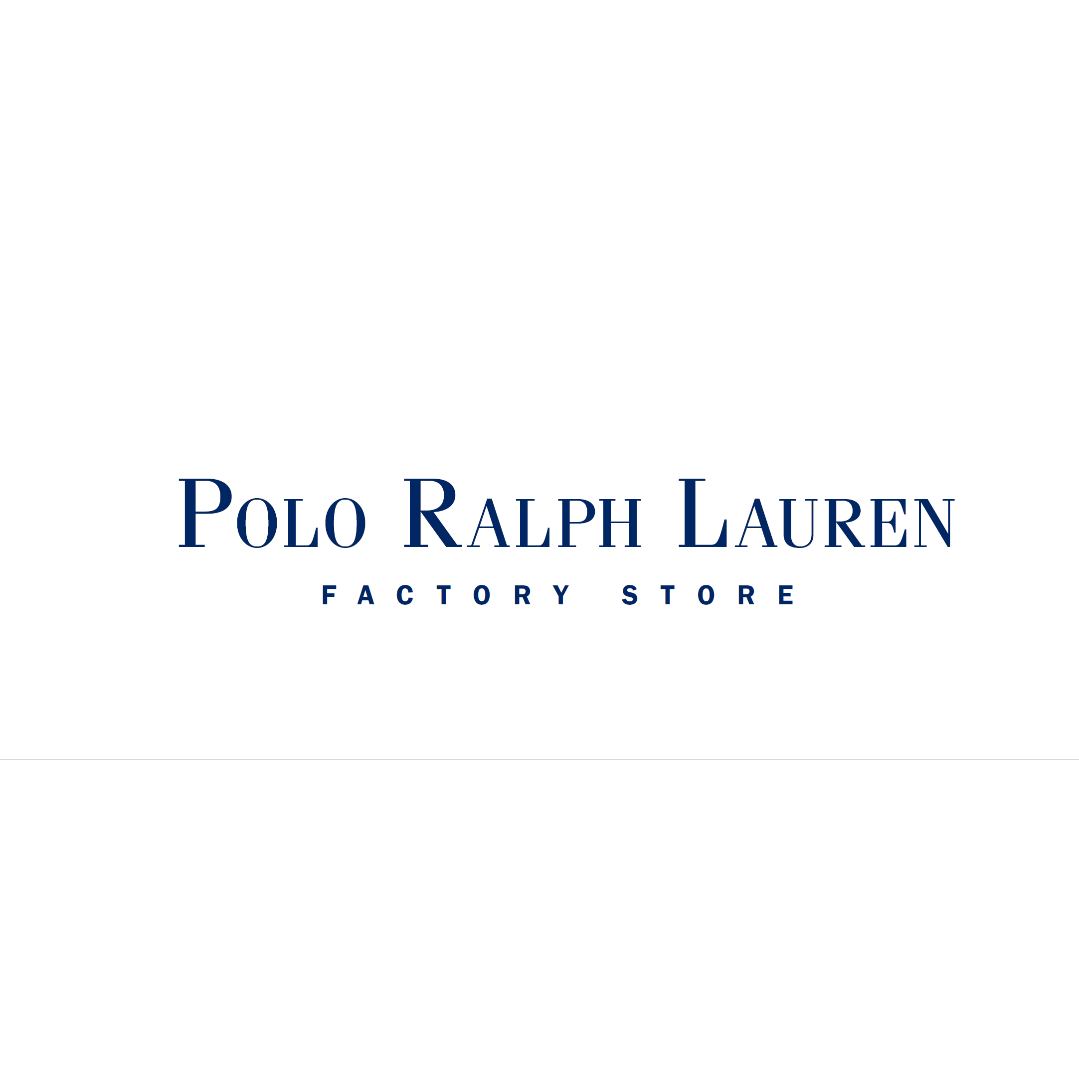 Polo Ralph Lauren Big and Tall Factory Store
