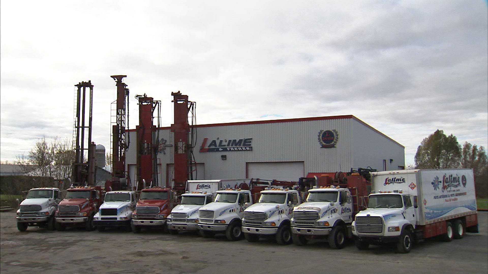 Lalime & Frères Inc à Saint-Bonaventure