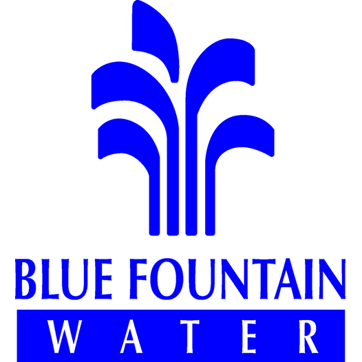 Blue Fountain Water