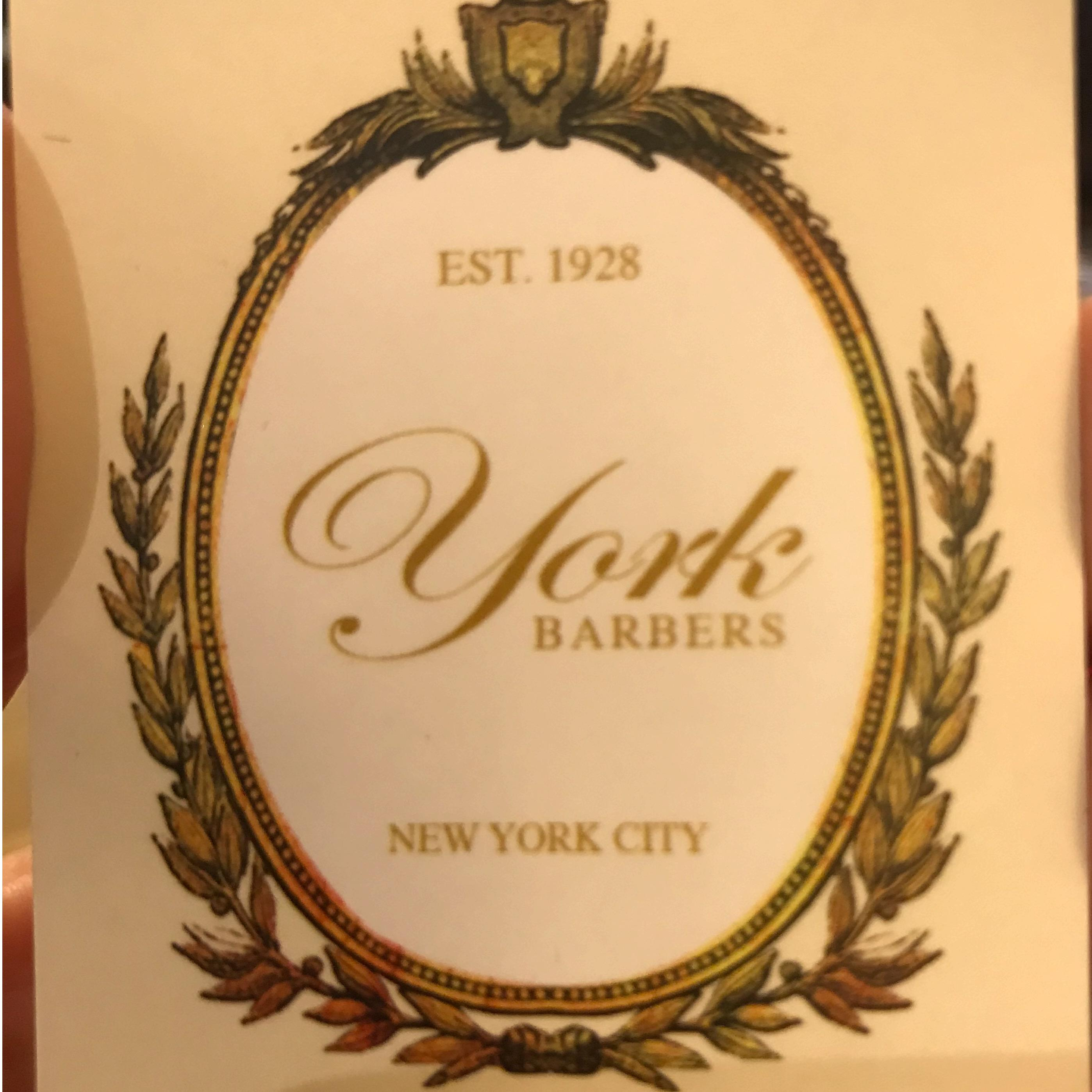 York Barber Shop