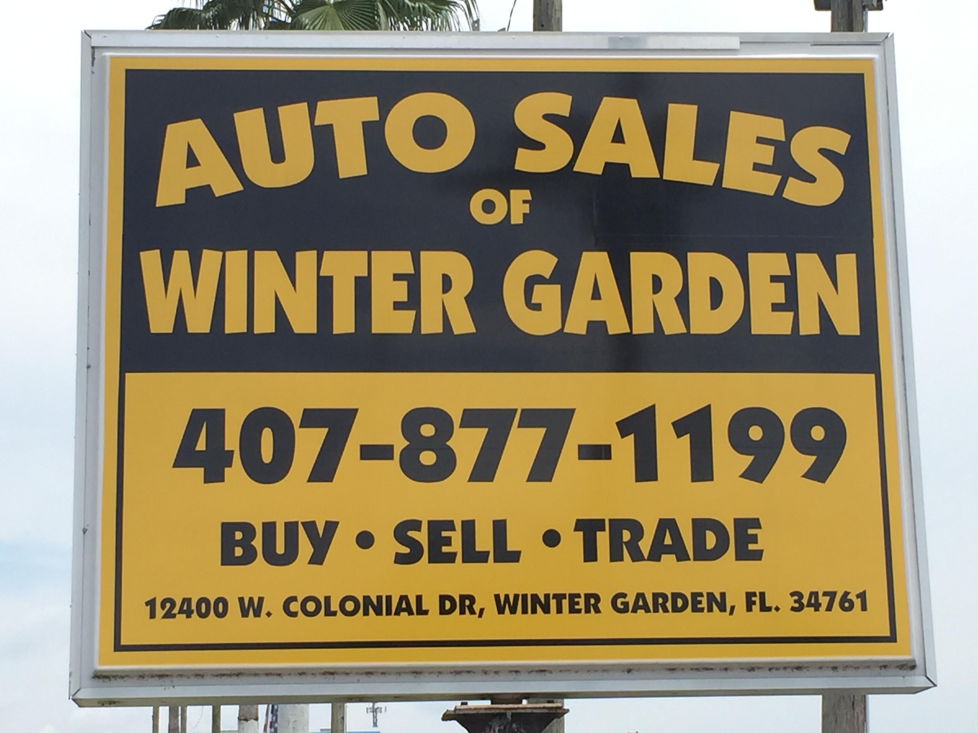 Auto Sales of Winter Garden