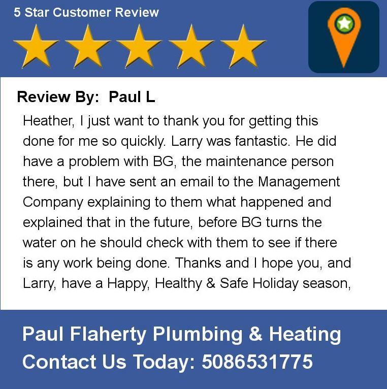 Paul Flaherty Plumbing & Heating Co., Inc. image 7