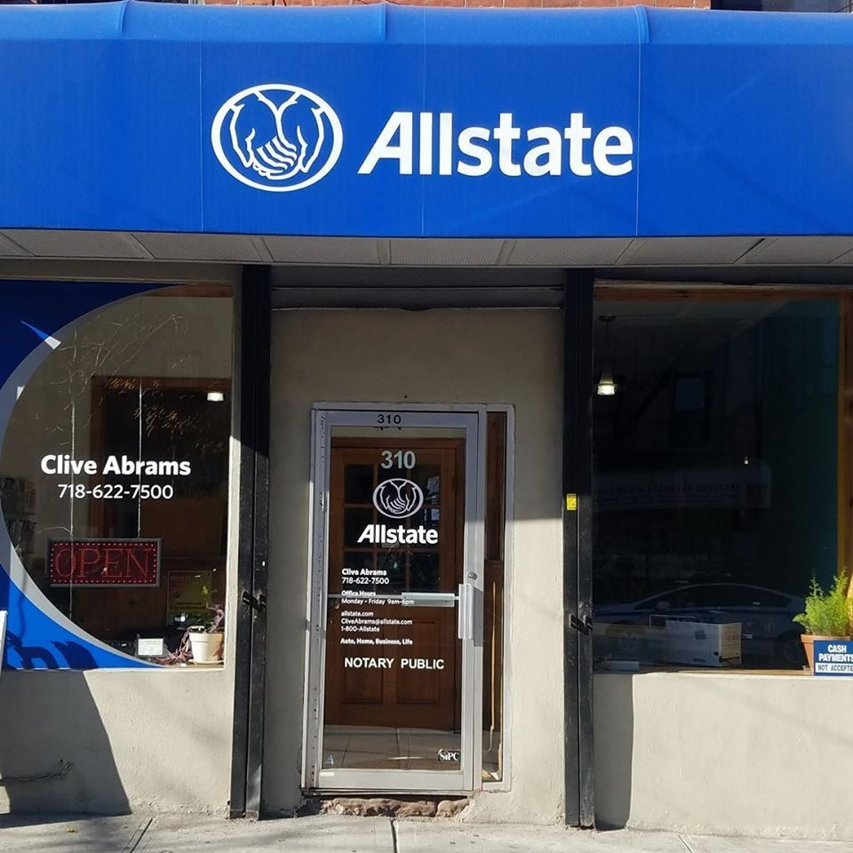 Allstate Insurance Agent: Clive S. O. Abrams