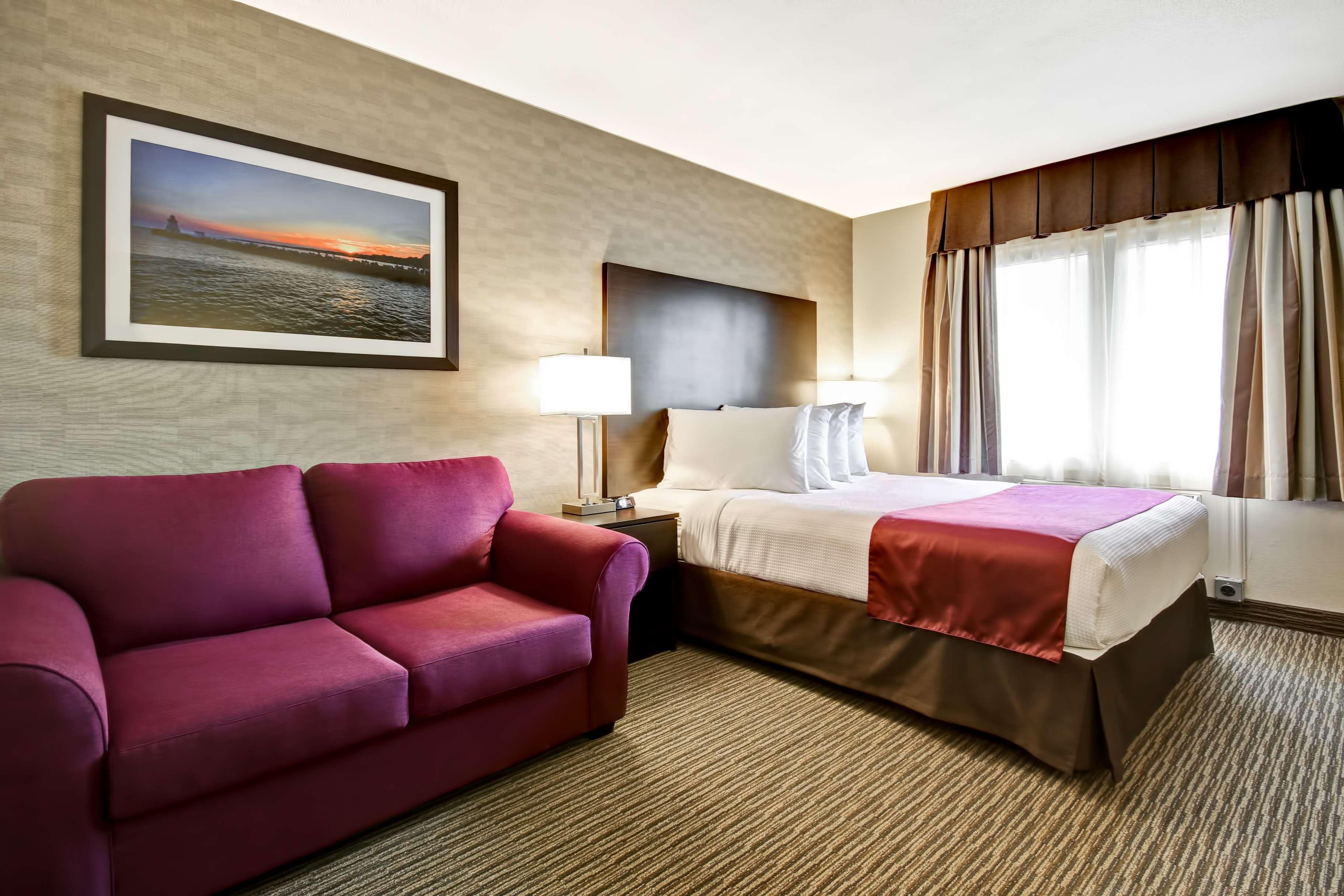 Best Western Little River Inn à Simcoe: One Queen Bed Guest Room