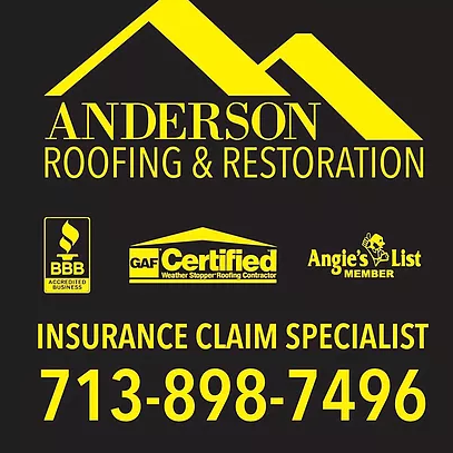 Anderson Roofing And Restoration Llc In Spring Tx 77386