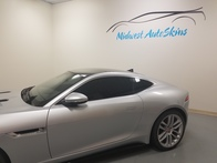 Jaguar F-Type Coupe R Series window tint and paint protection film