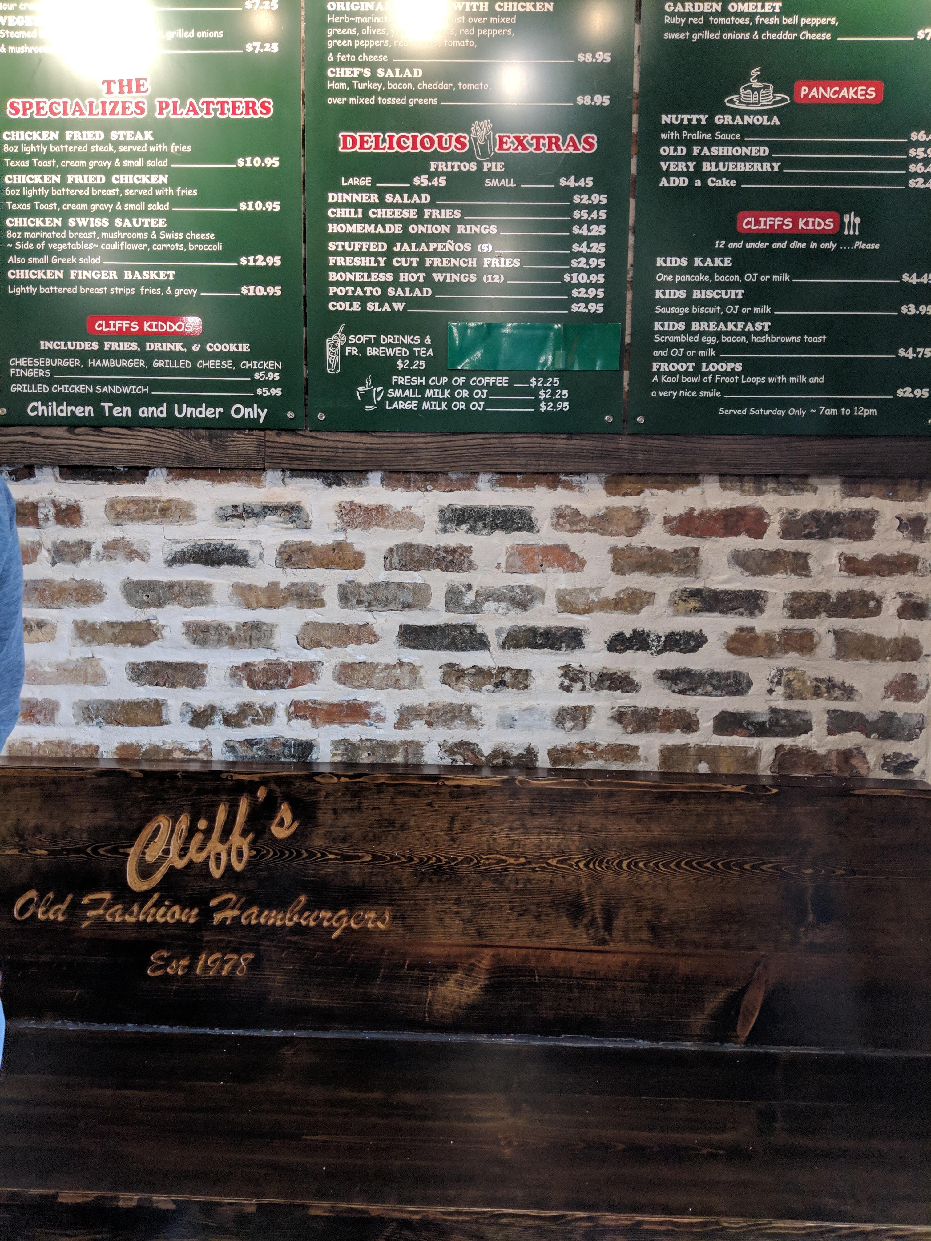 Cliff's Old Fashioned Hamburgers image 8