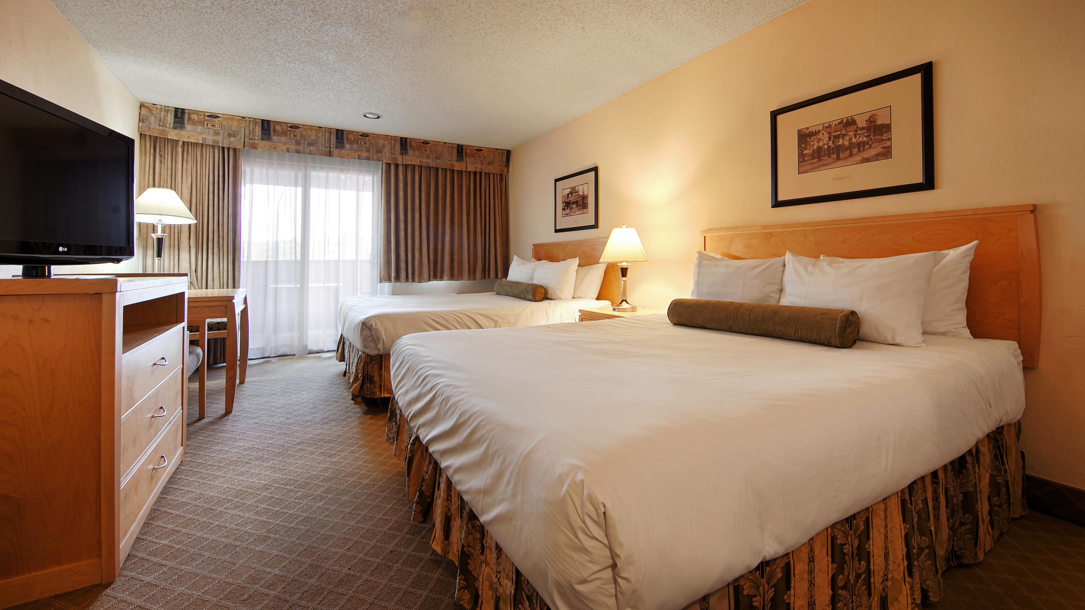 Best Western Chelsea Inn in Coquitlam: Two Queen Guest Room