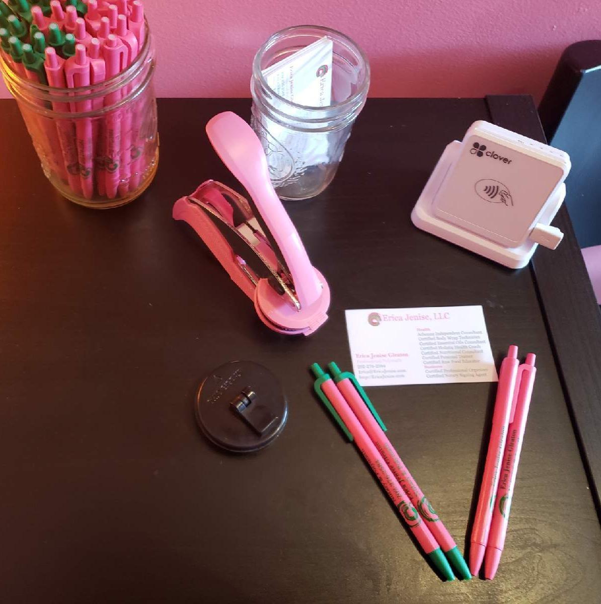 💖💚 Pretty Pink Mobile Notary & Polymath | Erica Jenise, LLC 💚💖 image 1