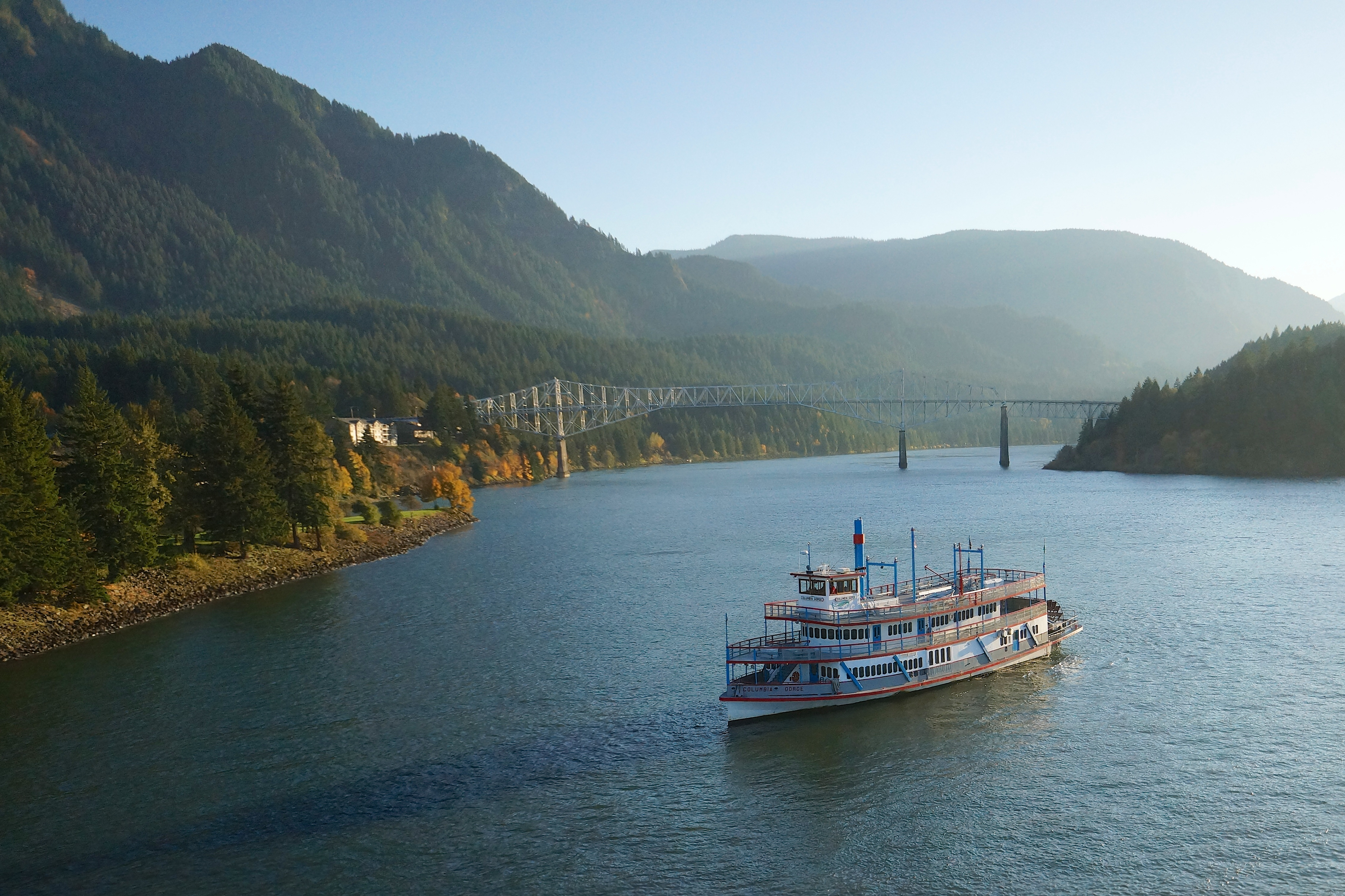 Columbia Gorge Sternwheeler and Locks Grill image 0