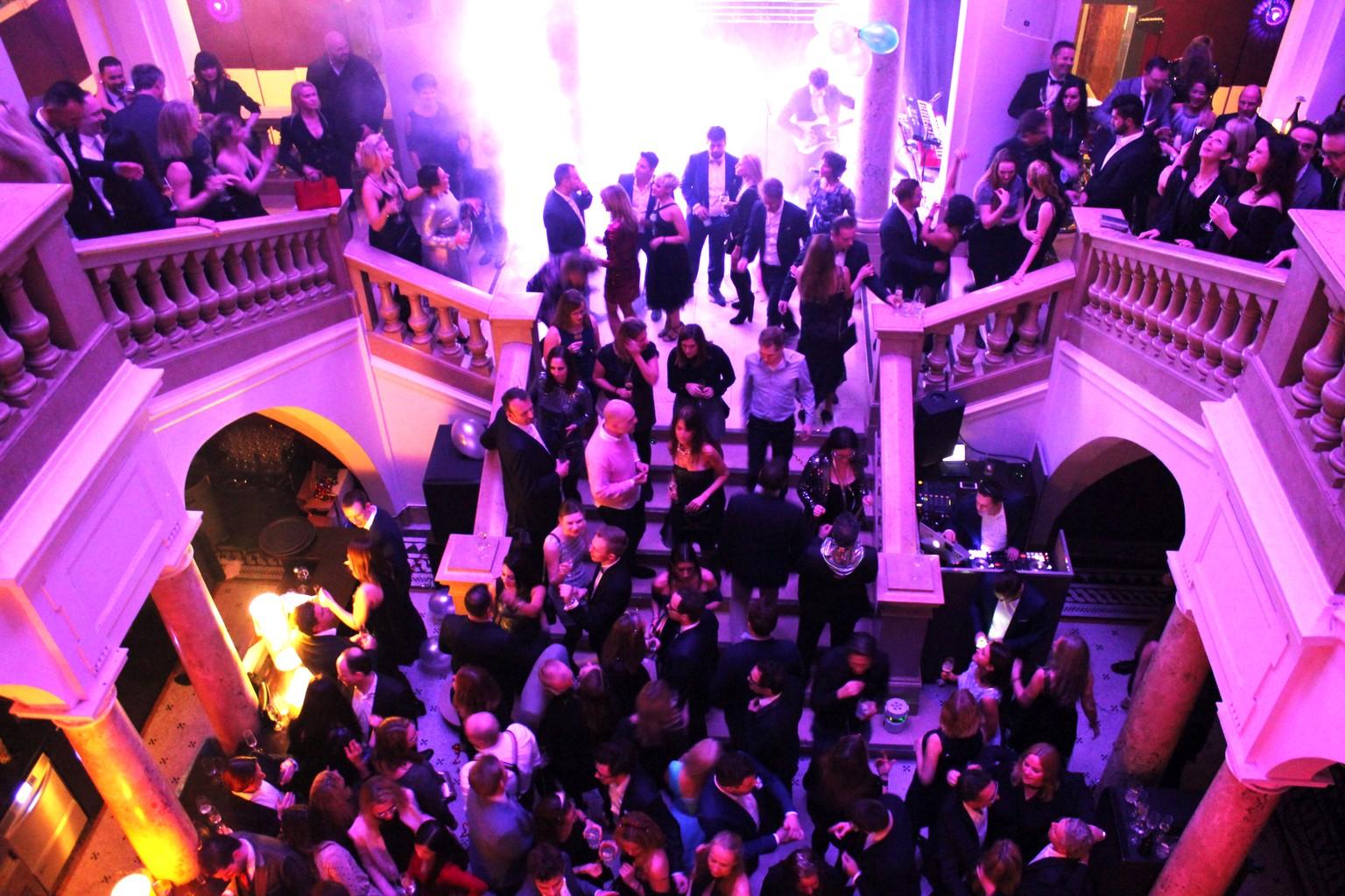 Silvesterparty im Atrium der Kameha Suite