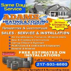 Adams Heating & Cooling image 0