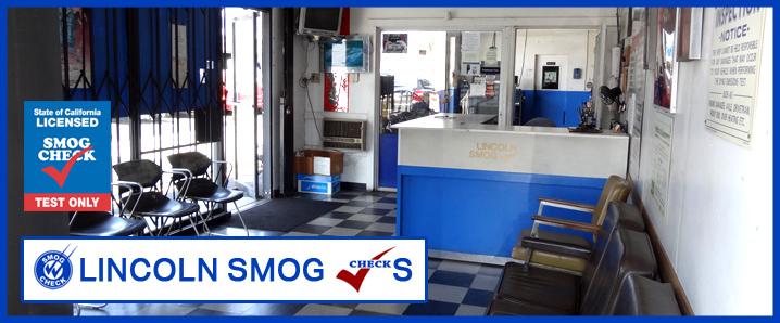 Lincoln Smog Checks - ad image