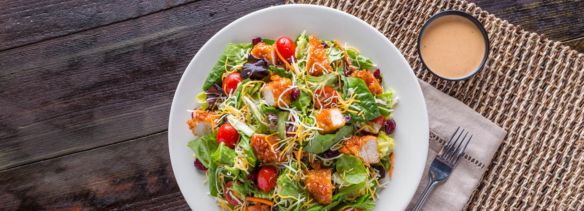 Our Sticky Finger salad is a fan-favorite! Try it today!