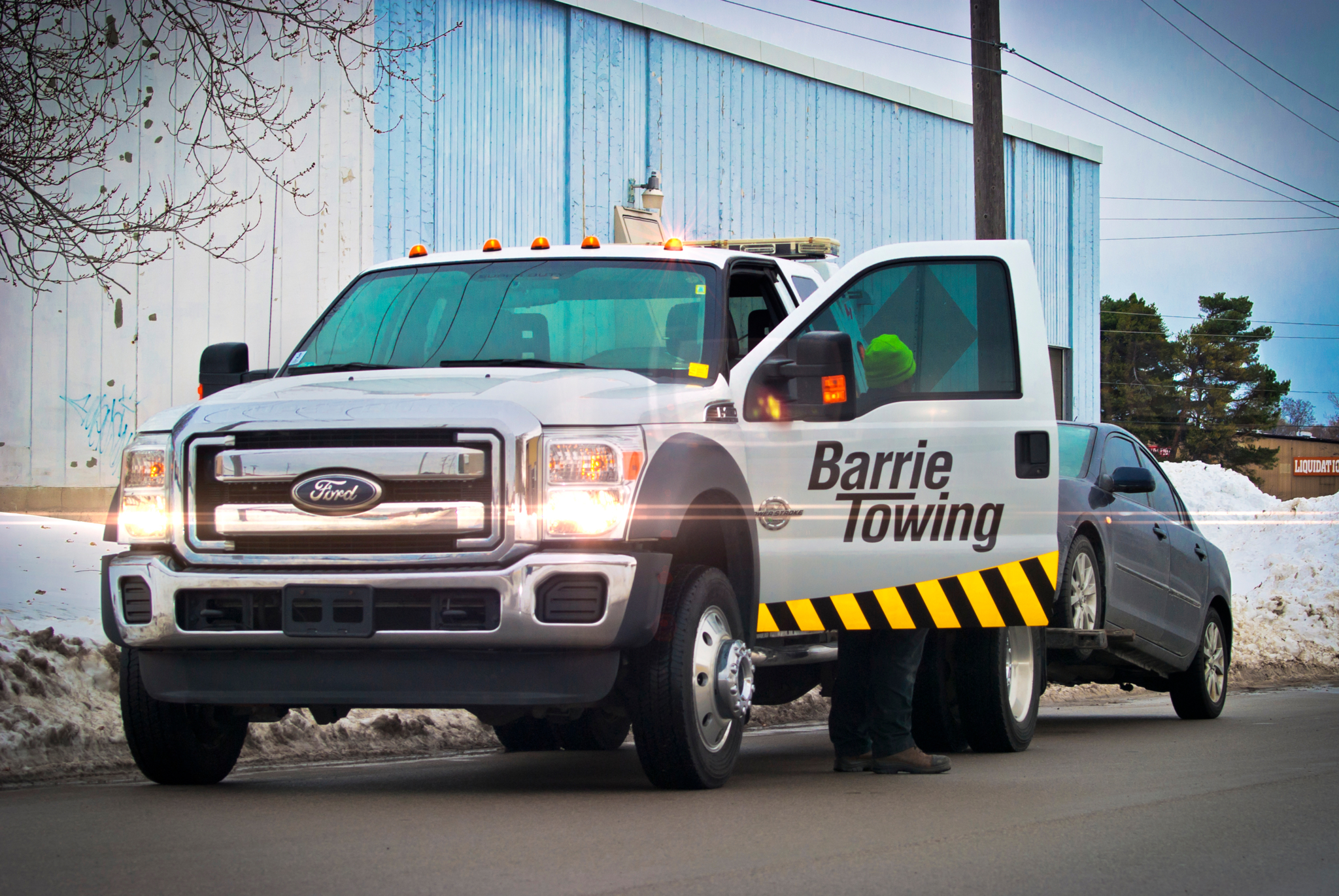 Barrie Towing & Recovery Ltd