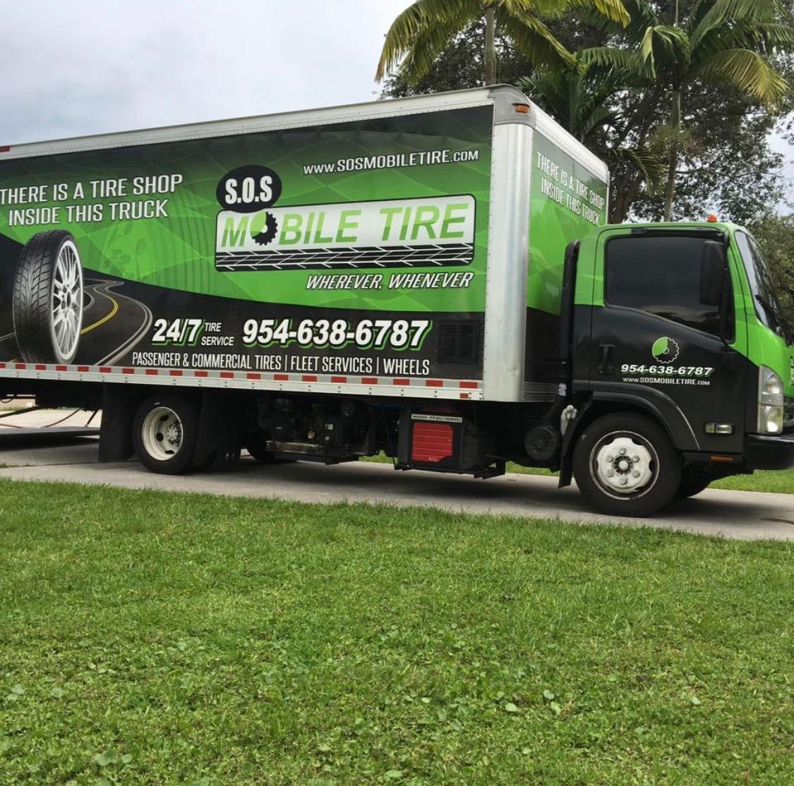 Mobile Tire Service >> S O S Mobile Tire Service 5900 Sw 42nd Pl Davie Fl Tire Dealers