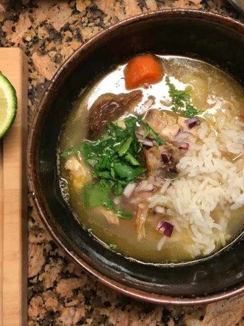 Asian Pho with House-made Rice Noodles