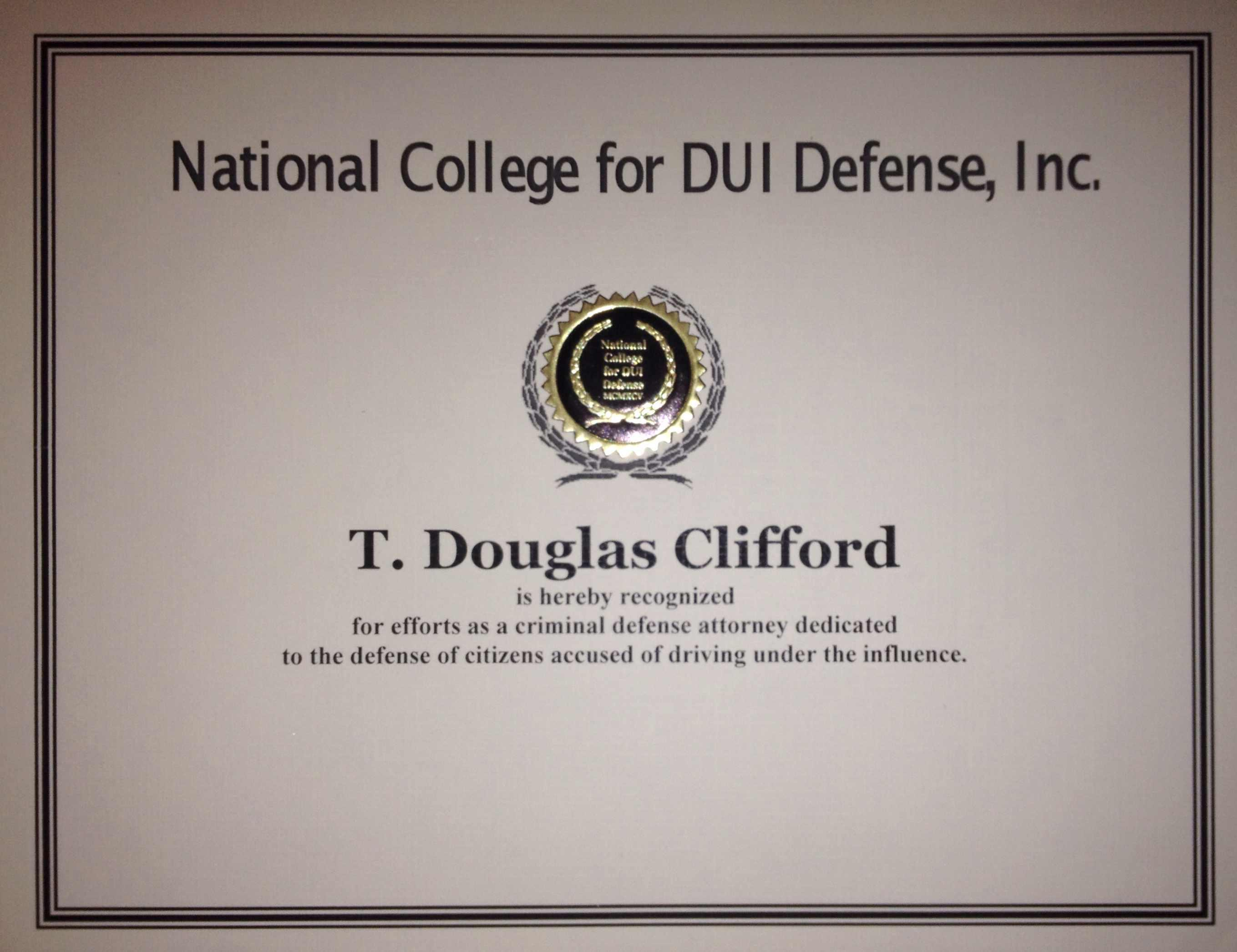 Law Offices of T. Douglas Clifford, LLC - ad image