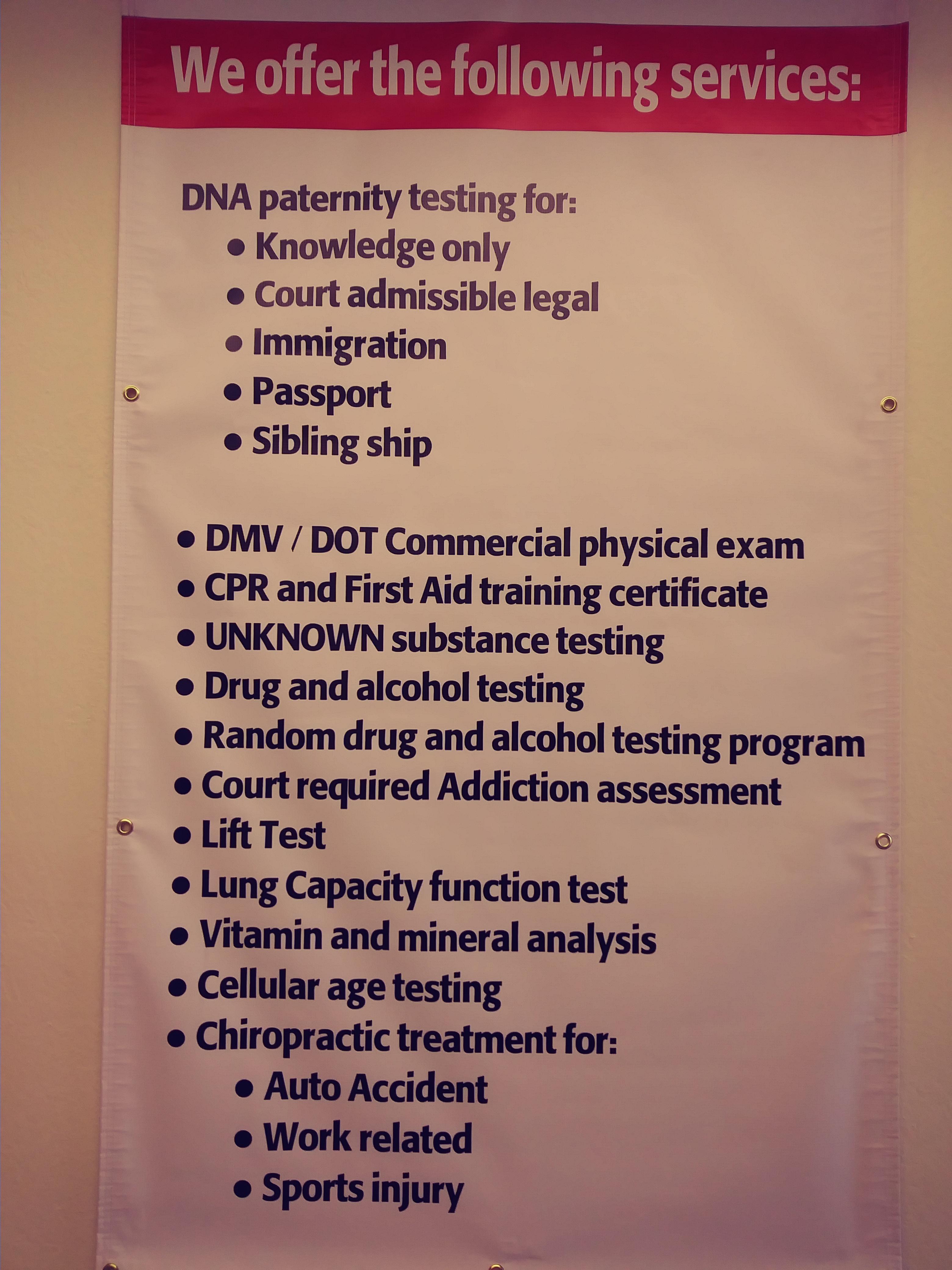 Northern California Drug Testing Clinic image 1