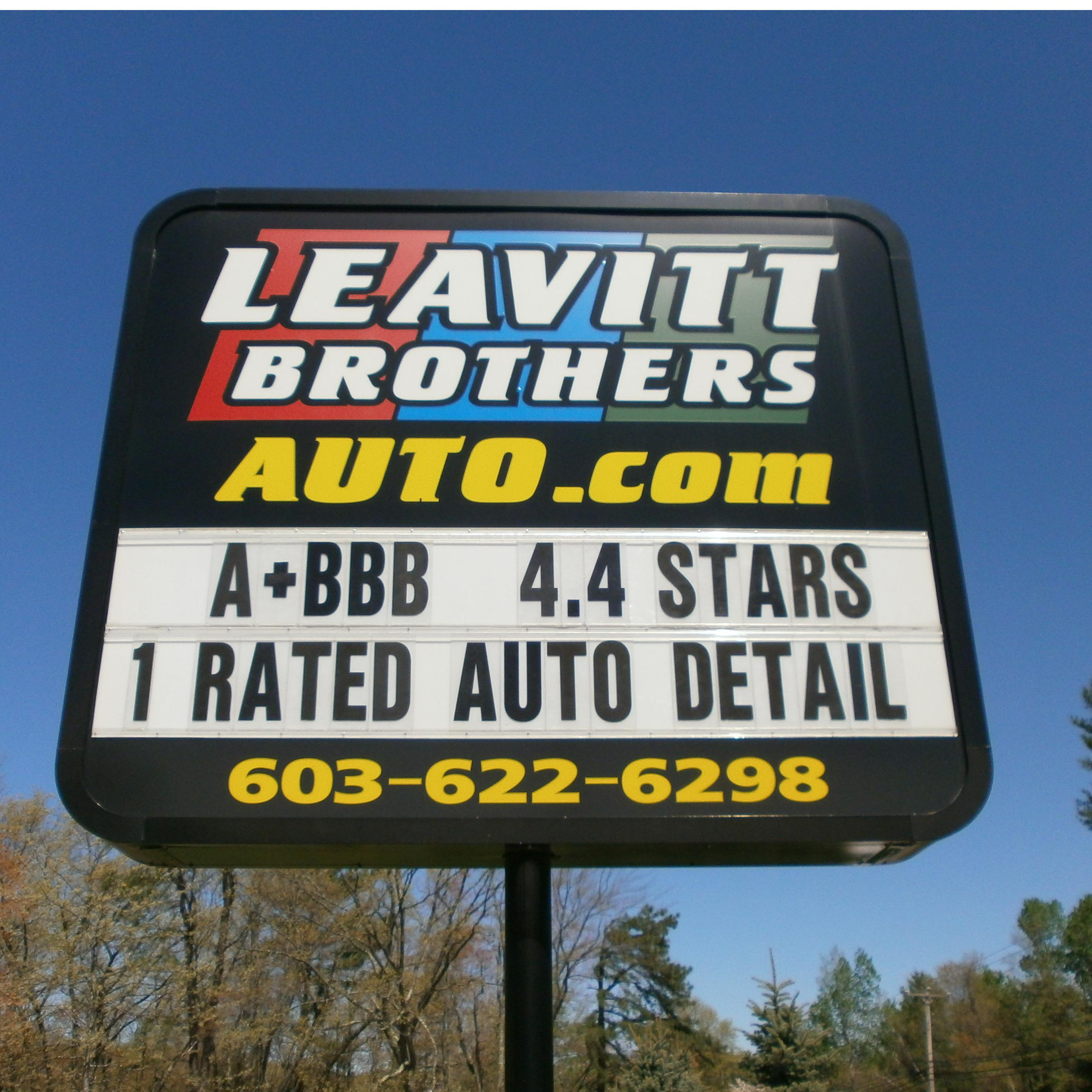 Leavitt Brothers Auto Sales-Consignments-Detailing
