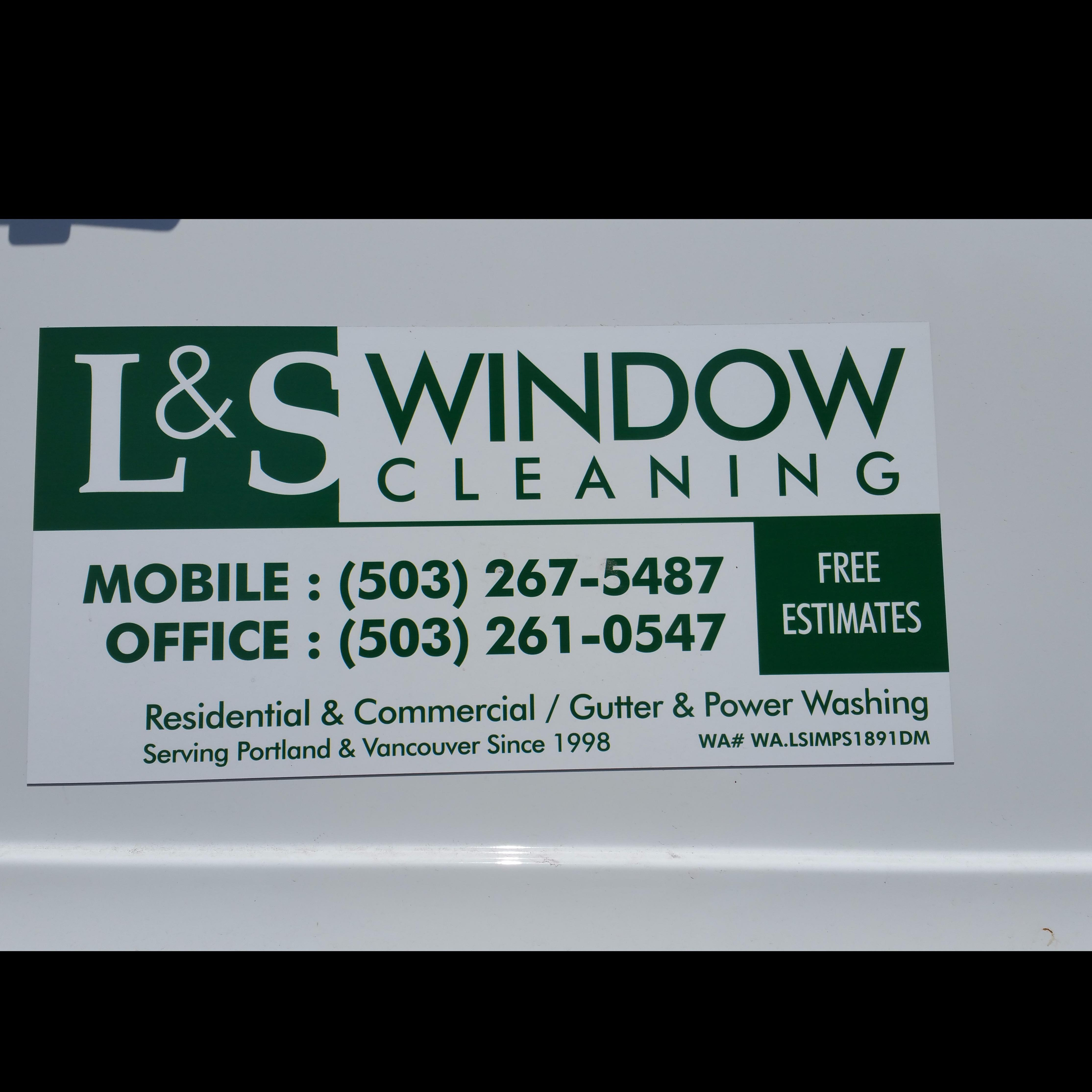L & S Window Cleaning