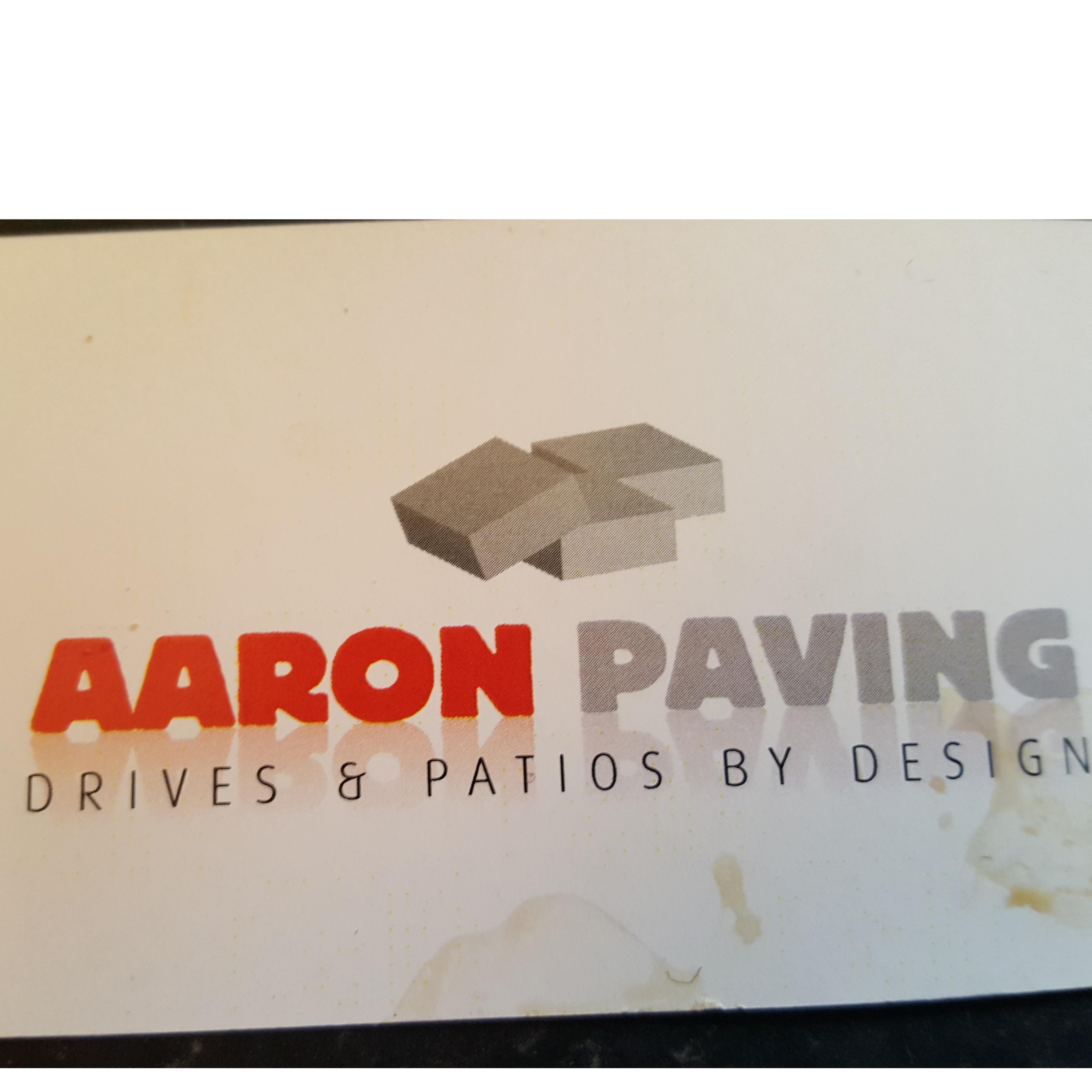 Aaron Paving