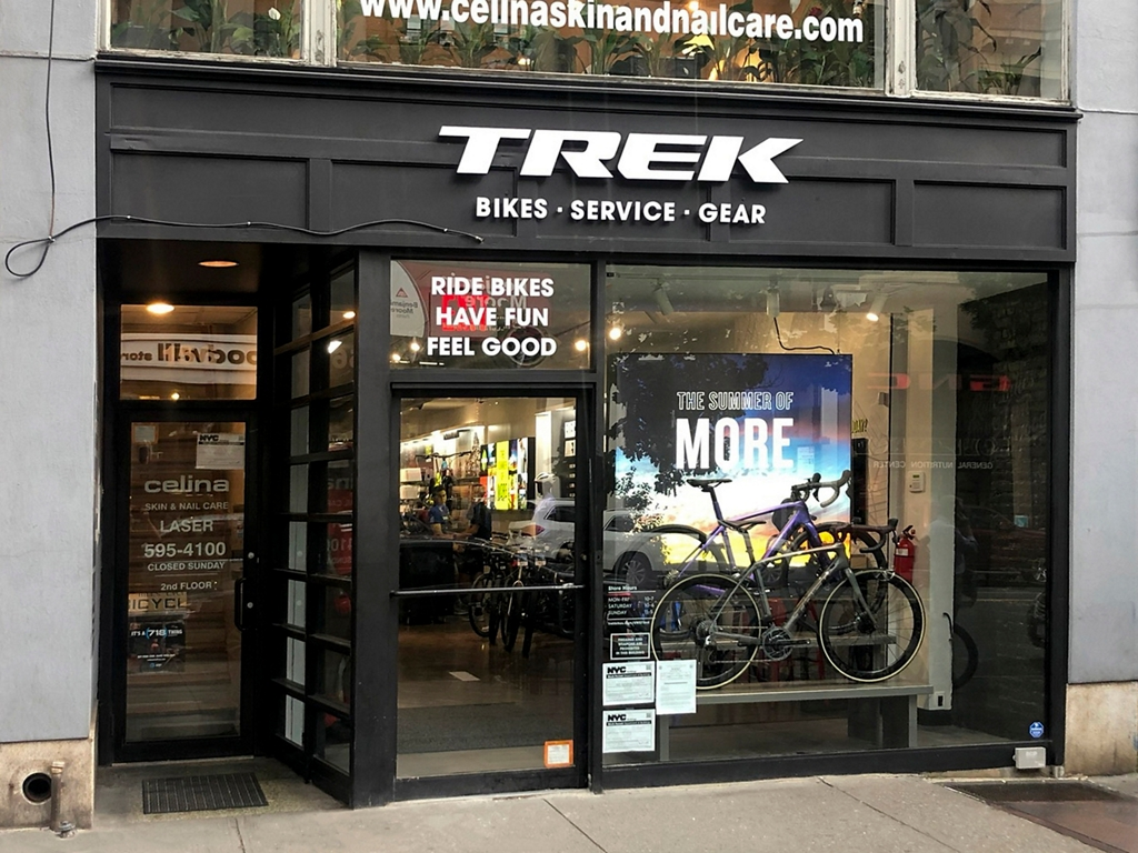 Trek Bicycle Upper West Side 72nd St.