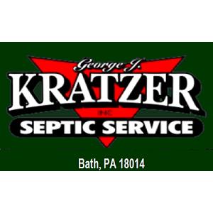 Kratzer, George J. Inc. - Septic Comapny - Bath, PA - Septic Tank Cleaning & Repair