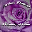 Justice Flower Shop Logo