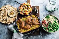 Moroccan Citrus Roasted Chicken Family Dinner