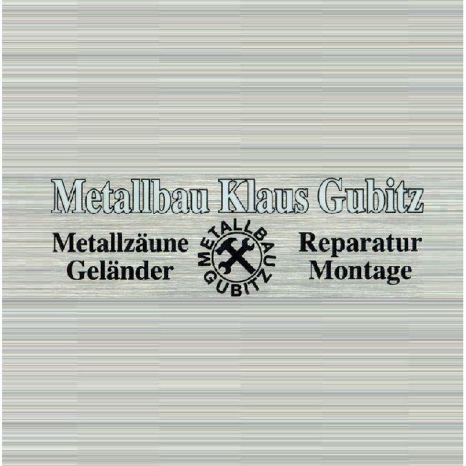 Logo von Metallbau Klaus Gubitz