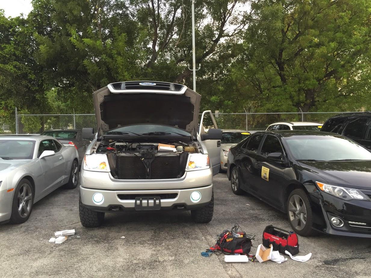 Miami Car Alarm- Hid- Led kit & Stereos Smoking tail lights(discounts) image 13