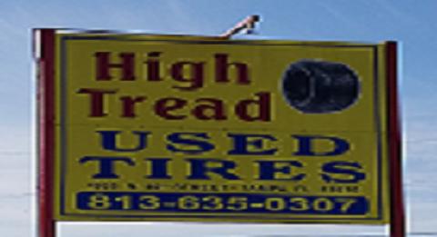 High-Tread Used Tires image 0