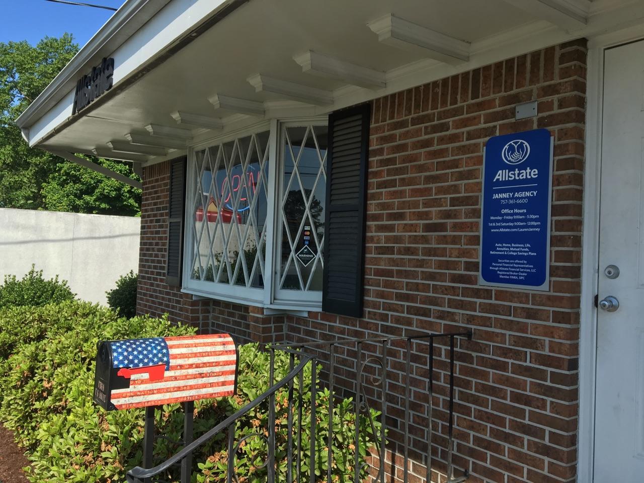 Allstate Insurance Agent: Janney Agency, LLC image 0