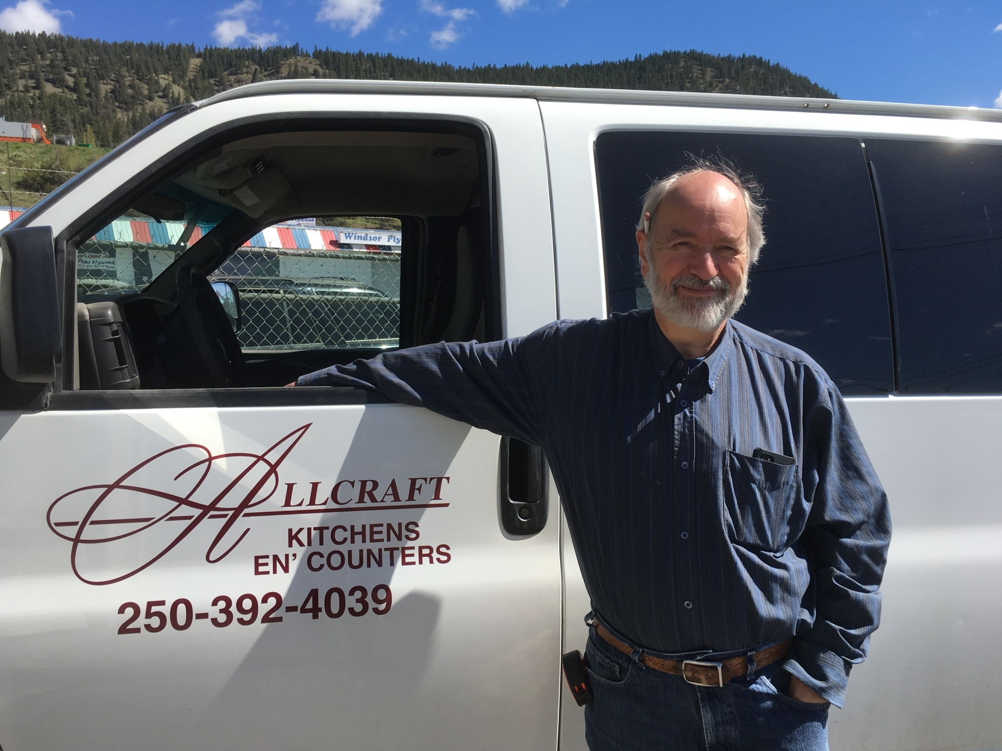 Allcraft Kitchens En' Counters in Williams Lake: Jim the owner from Allcraft Kitchens