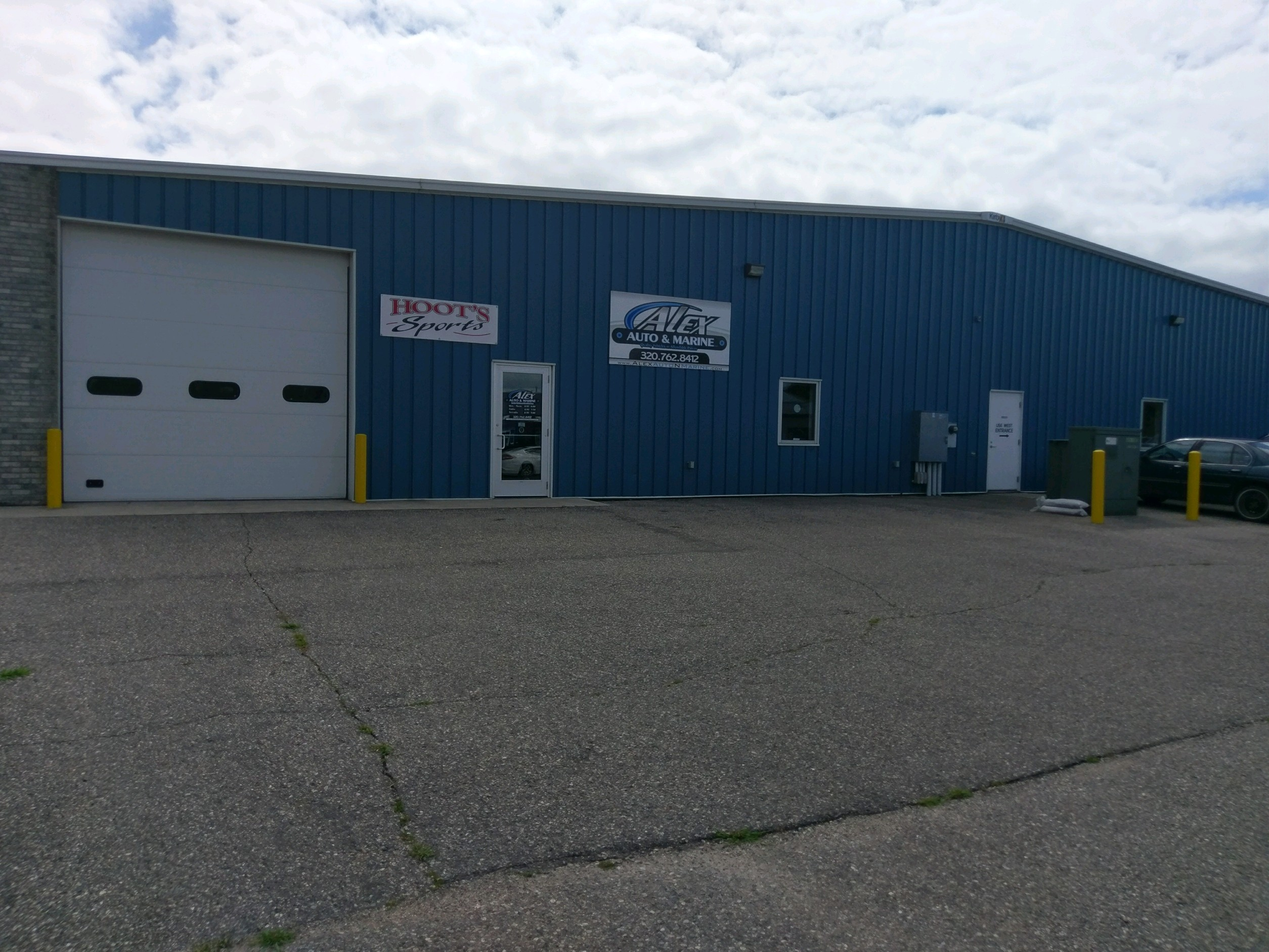 Alex Auto Marine Llc At 1424 North Nokomis Ne