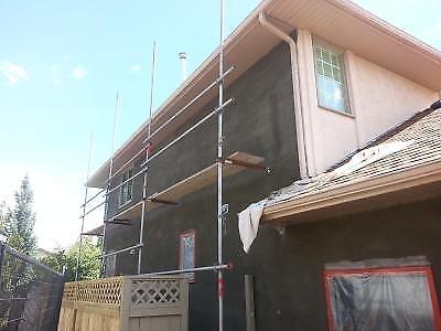 Jconomy Stucco Repair in Calgary