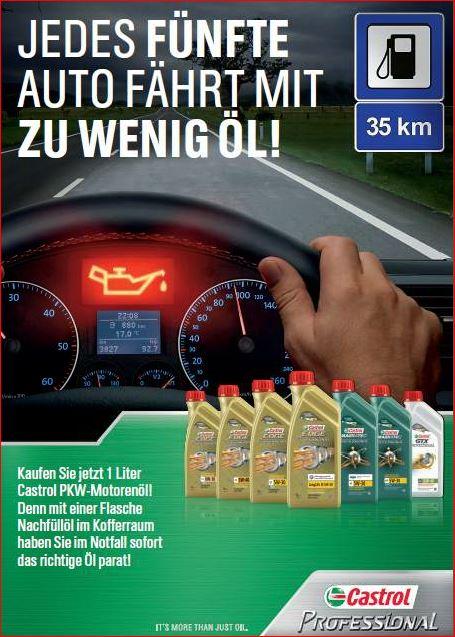 Castrol Ölfinder für Ihr Fahrzeug: Weitere Informationen anklicken und Sie gelangen direkt auf den Ölfinder von Castrol, um Ihren PKW mit dem richtigen Öl zu versorgen!